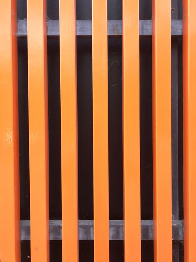 Orange vertical bars EyeEm Selects Pattern Backgrounds Full Frame No People Repetition Side By Side Orange Color