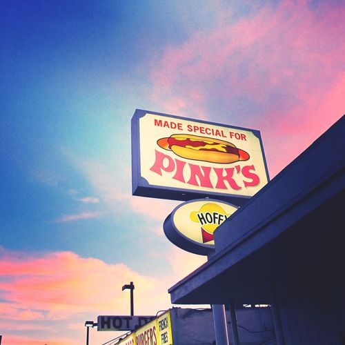 Hot Dogs La MELROSE Pink pinks Hot Dog ?