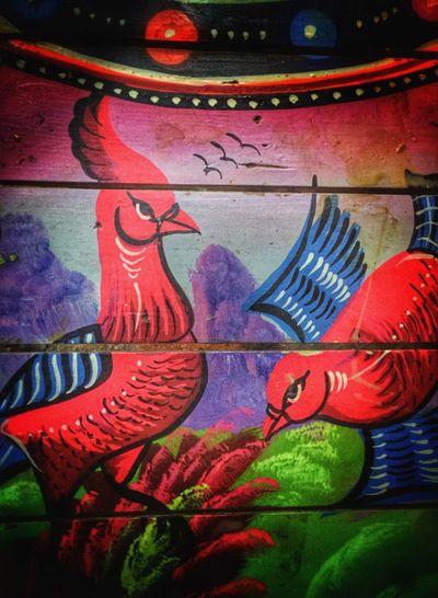 Truck Art Animal Photography Art Painted Birds Birds