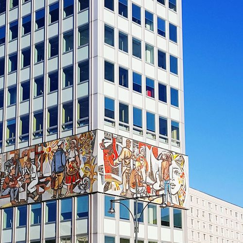Alexanderplatz. Building Exterior Built Structure Architecture Low Angle View Outdoors No People City Alexanderplatzberlin Low Angle View Travel Destinations Architecture And Art EyeEm Best Edits EyeEm Best Shots - Architecture EyeEm Gallery Eyeem Best Shot Eye4photography  Berlin, Germany  Hanging Out Capital Cities  Architectural Feature EyeEm Best Shots Façade Architecture_collection Architecture Arch