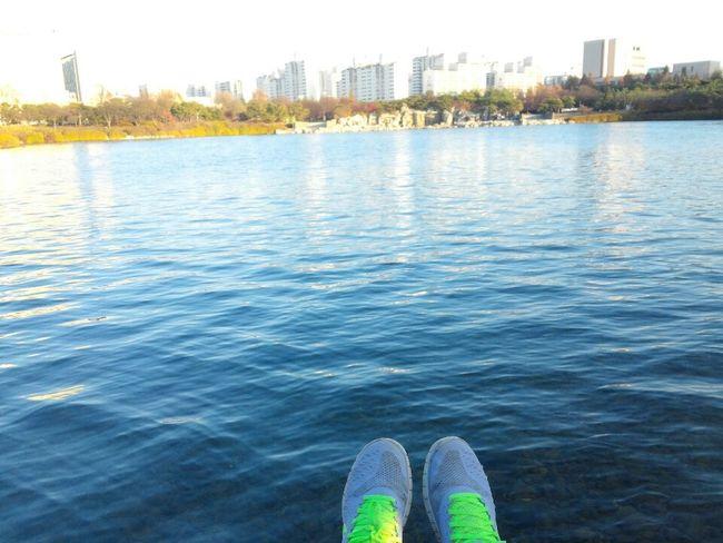 Landscape Lake Blue Nature