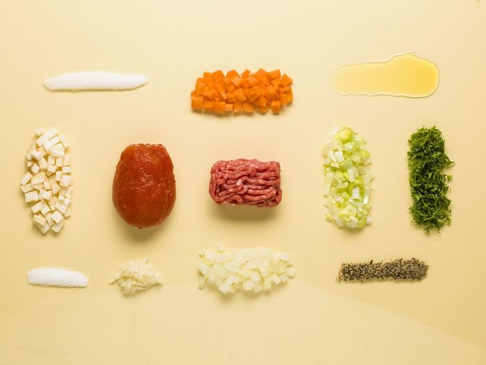 Things Organized Neatly Bolognese Foodporn Colors What's For Dinner?
