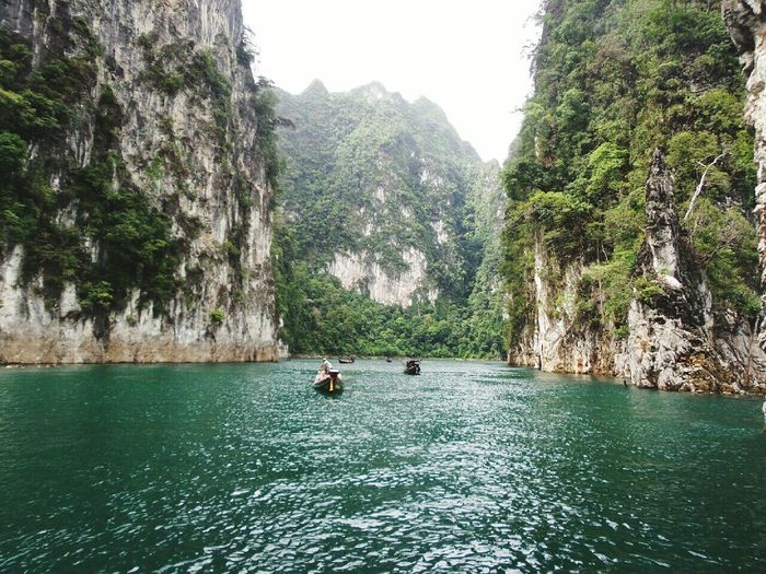 Nature กุ้ยหลินเมืองไทย Tree Travel Travel Destinations Thailand Vacation Tourism City Moutain Lake Day Beauty In Nature Water Summer Green Ratchaprapa Dam Relaxing Relaxing Time