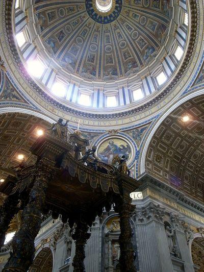 VaticanCity Rome Italy StPetersBasilica
