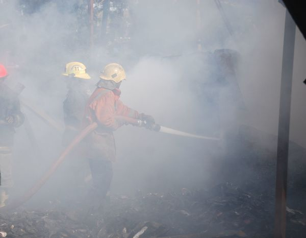 Firemen At Work Smoke Smoking Bodysuit Emergency Equipment Fire Hose Firefighter Firemen Firemen At Work Helmet Protective Suit Protective Workwear Smoke - Physical Structure Water Working