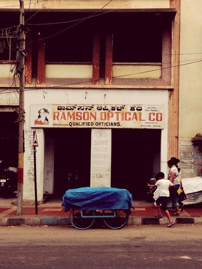 Old optical shop in Commercial Street Bangalore India 2014 Traveling City Life Incredible India