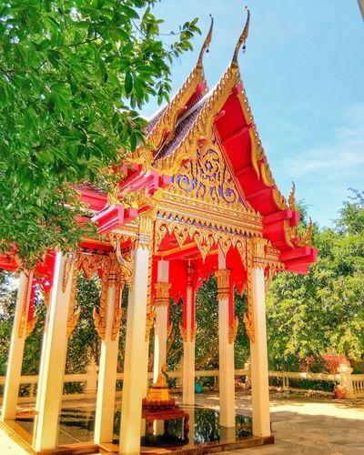 Temple Architecture Built Structure Building Exterior Tree Outdoors Religion