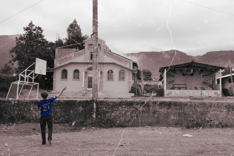 Colorsplash Blackandwhite Vintage Ecuador Traveling