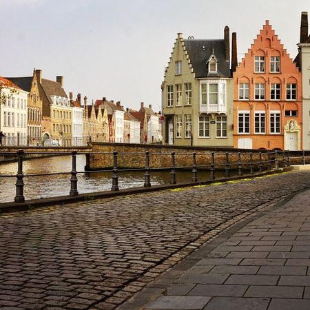 Brugge Travel Building Exterior Cobblestone Streets