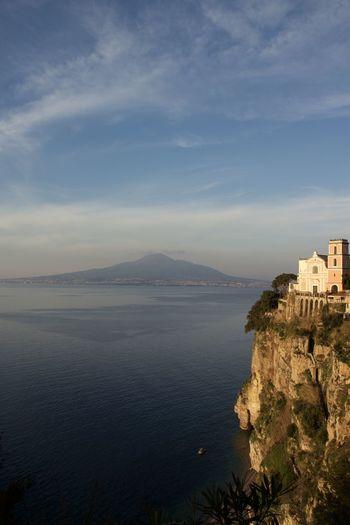 Bay Of Naples, Italy. Day Landscape No People Outdoors Sea Sky Vesuvius  Volcano First Eyeem Photo