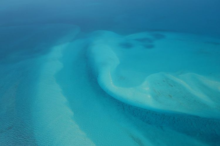 Abstract aerial photography 45201 Minimalism Sky Abstract Photography Aerial Photography Sky_collection Exuma Ocean Exuma Cays Water Bahamas Outdoors Turquoise