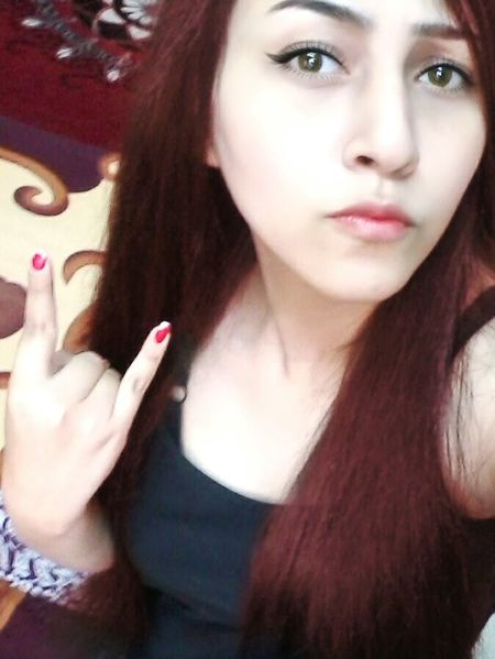Metalhead Heavy Metal Metalhead \m/ Concert Nader Sadek Redhead