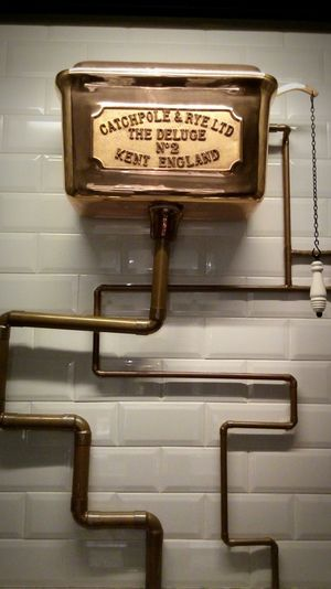 Copper  Copper Tubes Pipe - Tube Art And Craft No People Turning Point Imagine Toilet Art Perspective Pattern, Texture, Shape And Form Pathways Flushing Toilet Oldies But Goldies In Pub Indoors Old-fashioned Close-up Day Dubai. England The Deluge N°2 Kent England Art Is Everywhere