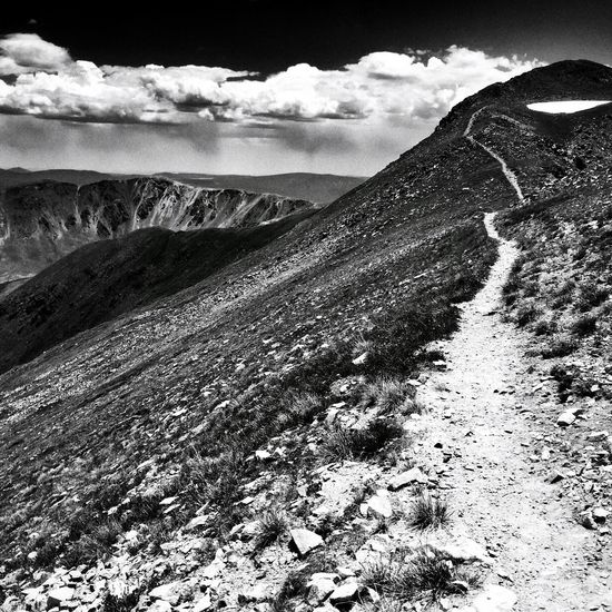 Trail to Heaven Trail Heaven Heavenly Trail To Heaven Adventure Club Blackandwhite Photography High Altitude Monochrome Black&white Black And White Monochromatic Blackandwhite Black And White Photography Mountain Hiking Black & White Mountain Climbing Journey Landscapes Desert Life Desert Beauty Mountaineering Backpacking Composition High Contrast Snow ❄