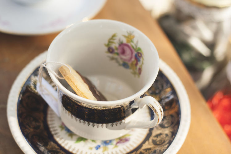 Tasty Teacup Bowl Close-up Coffee Cup Cookie Cup Day Drink Food Food And Drink Freshness Healthy Eating Herbal Tea Indoors  No People Plate Ready-to-eat Refreshment Saucer Still Life Table Tea - Hot Drink Tea Cup Teapot Vintage