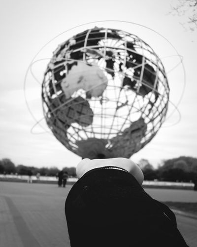 World Newworld Metal Architecture Blackandwhite Photography New York Tierra Earth Globo Terráqueo