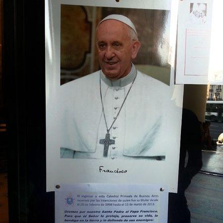 De aqui salio el Papa Francisco... madre pienso en cuanto te hubiera gustado estar aqui...