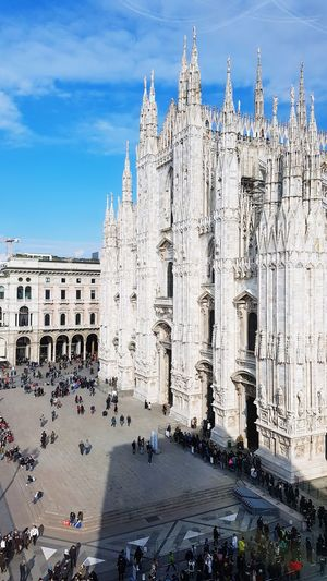 Duomo di Milano Duomo Di Milano Duomo Milano Milanocity Museo Del Novecento Museo Del Novecento Milano City Sky Architecture Building Exterior Built Structure Gothic Style