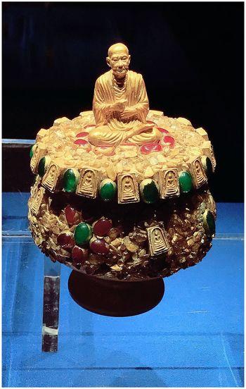 Sculpture of cake