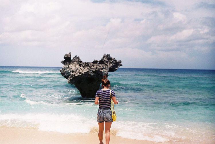 kouri ISLAND Okinawa Japan Heart Rock