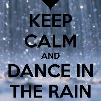 👣💗 I love the rain in spring 💗👣
