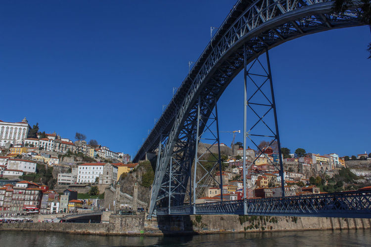 Travel Destinations Architecture City Outdoors Day Cityscape Sky D Luís I Bridge Porto Portugal 🇵🇹
