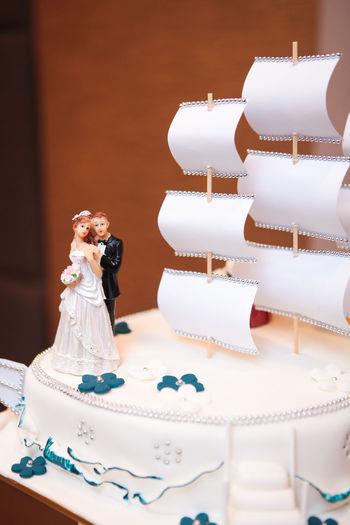 Bride Bridegroom Celebration Close-up Day Figurine  Indoors  Life Events One Person People Sweet Food Wedding Wedding Cake