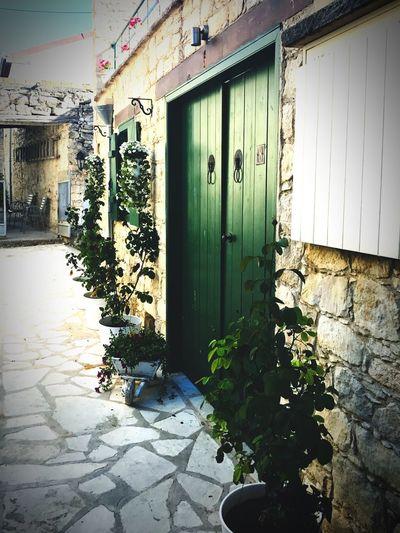 Village Door Greenery