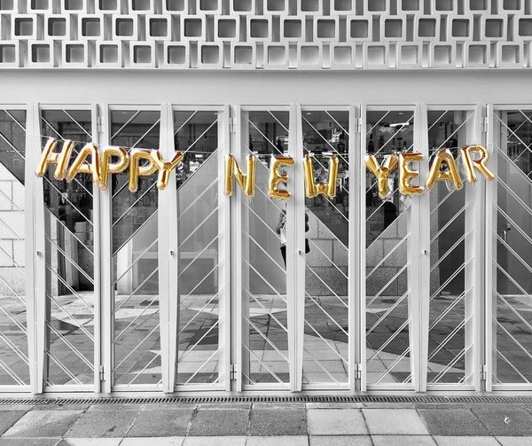 Happy New Year Building Exterior Architecture No People Barcelona Doors Reflection Streetphoto_bw Architecture_bw Colorsplash Colorsplash_theworld Colorsplash_bu Streetphotography Street Photography IPhoneography Iphoneonly Lighting Equipment EyeEm Gallery TheWeekOnEyeEM EyeEm Best Shots Estructuras Reflections Lines Mirror