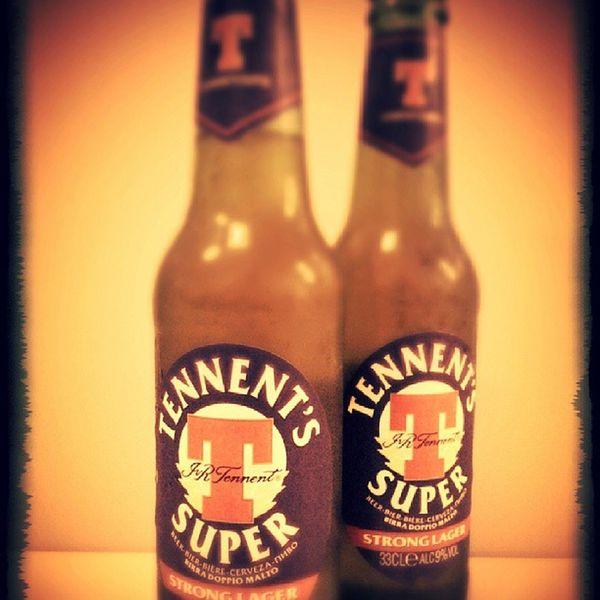 Beer Tennents Happy Smoke