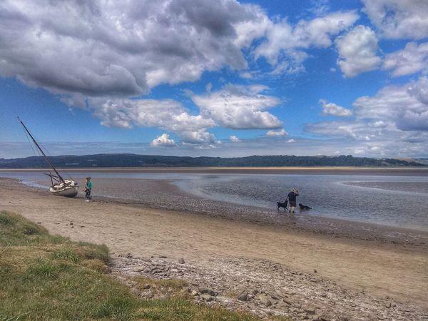 Water Sea Beach Sand Sand Dune Blue Salt - Mineral Sky Horizon Over Water Cloud - Sky