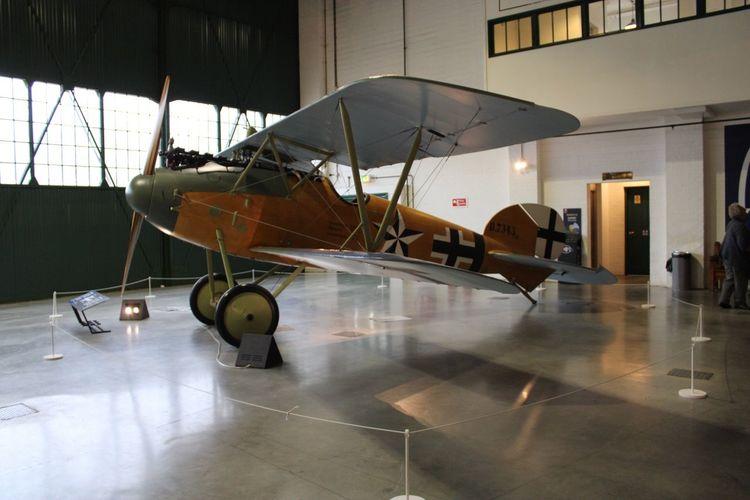Albatross D.va WW1 German Aircraft Travel Indoors  No People Airplane