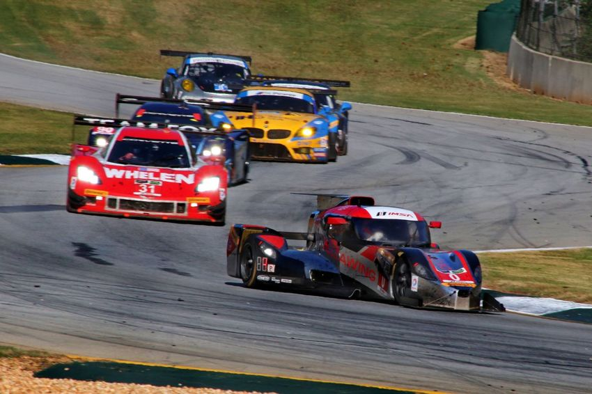 Road Atlanta Petit Le Mans Racing Cars