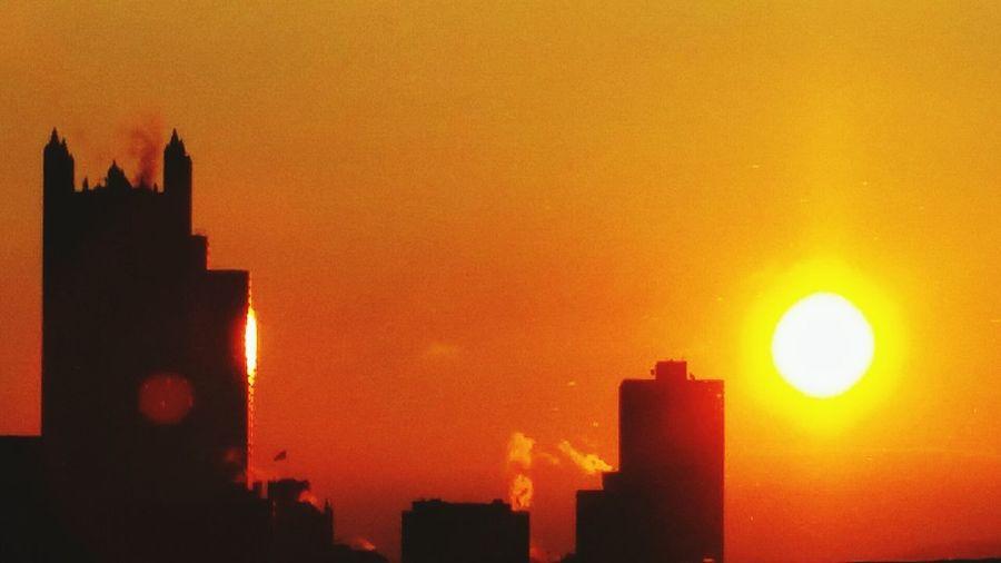 Good Morning Pittsburgh Cityofbridges Sunrise