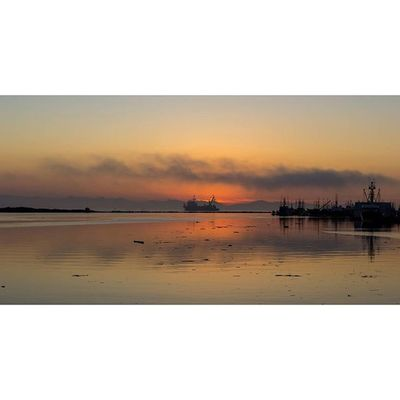 One if those sunsets that come together at Steveston. Steveston Sunset Landscape Boat richmond vancouver bc explorebc vancity vancitybuzz photography