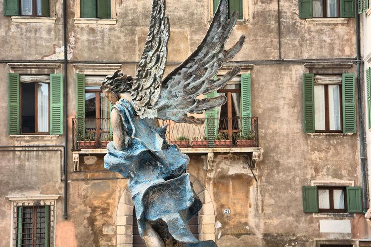 Angel Italy Italia Italy❤️ Verona Italy Verona Nikon Travel Destinations Travel Photography Statue Sculpture History Architecture Building Exterior