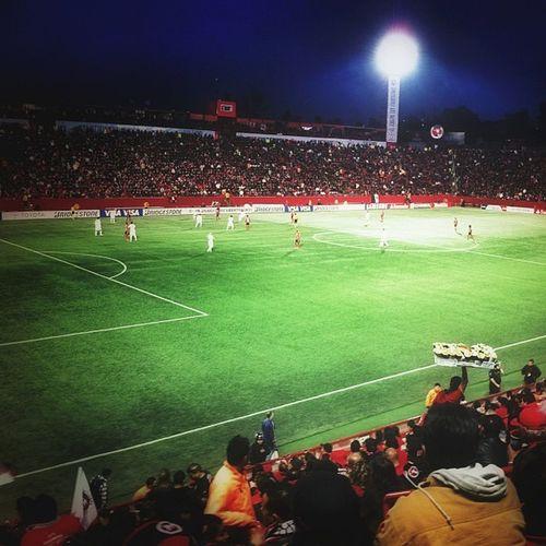 Estadiocaliente Copabridgestonelibertadores Comebol Brasil mexico xolos vs corinthians futbol soccer 2013 campeon oficialxolos instagram