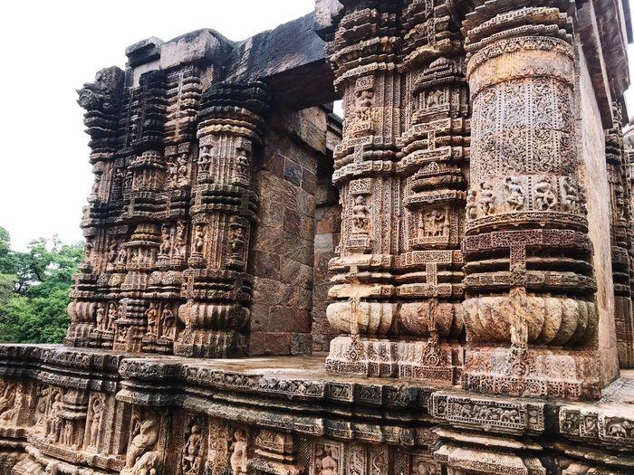 Konark Sun Temple, Odisha, INDIA No People Nature Day Built Structure Sky Architecture Sunlight