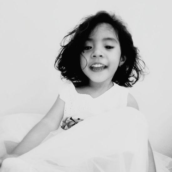 EyeEm Selects Children Only Girls Happiness Wedding Dress Beautiful Woman Bedroom Indoors  Child