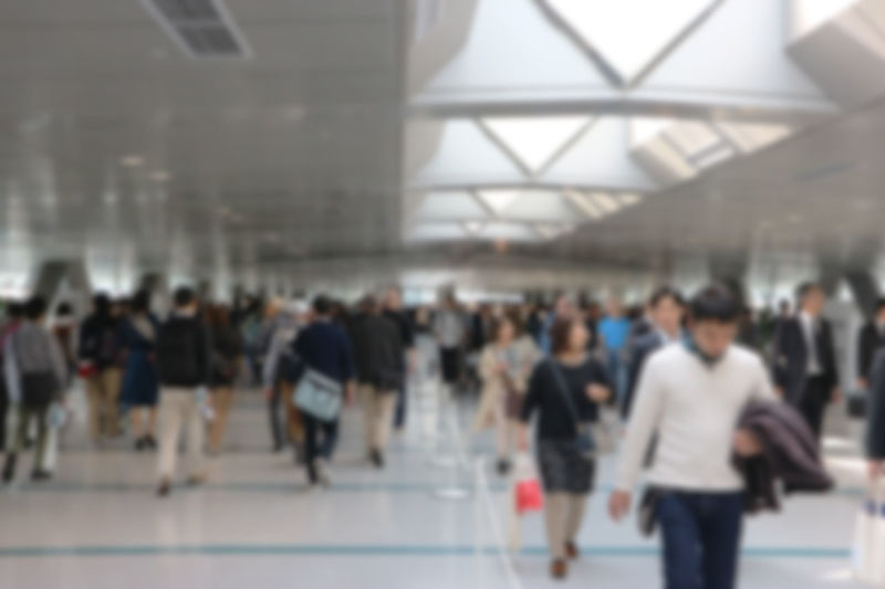 blurred crown people walking on hall way Business Busy Hall Way Adult Architecture Blurred Motion City Crowd Day Daylight Group Of People Indoors  Large Group Of People Men Motion Real People Transportation Travel Walking Women