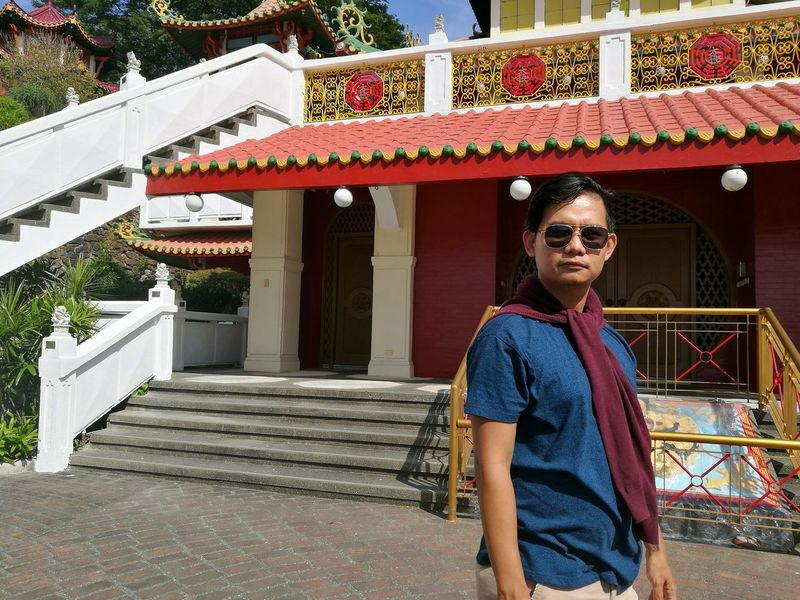 Chinese Temple TaoistTemple Taoist Temple One Man Only Beautiful People One Person Outdoors People Adult Standing Day