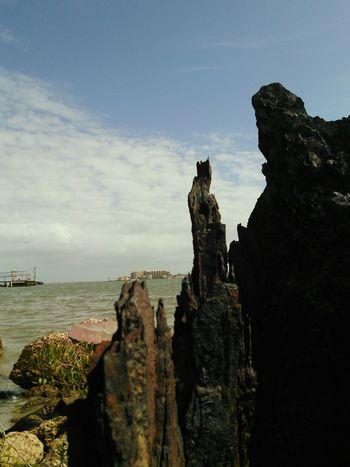 Channel View Between The Islands Ocean Water