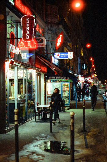 CineStill 800T Nightphotography Cinestill City City Life Film Photography Lifestyles Night Street Streetphotography