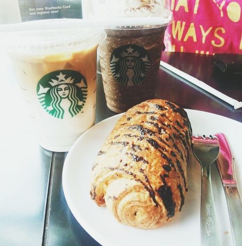Hangout Girlstime  Relaxing Starbucks Coffee Time