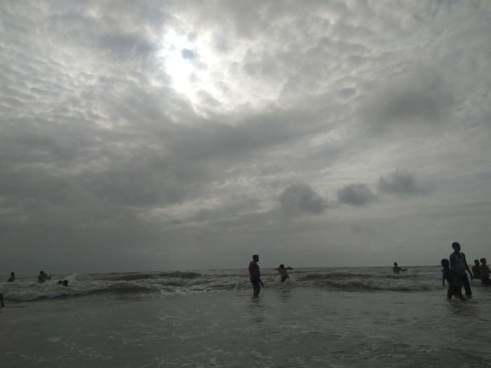 Water Beach Silhouette Cloud - Sky People Landscape Sky Lake Outdoors Adult Nature Day Adults Only Only Men