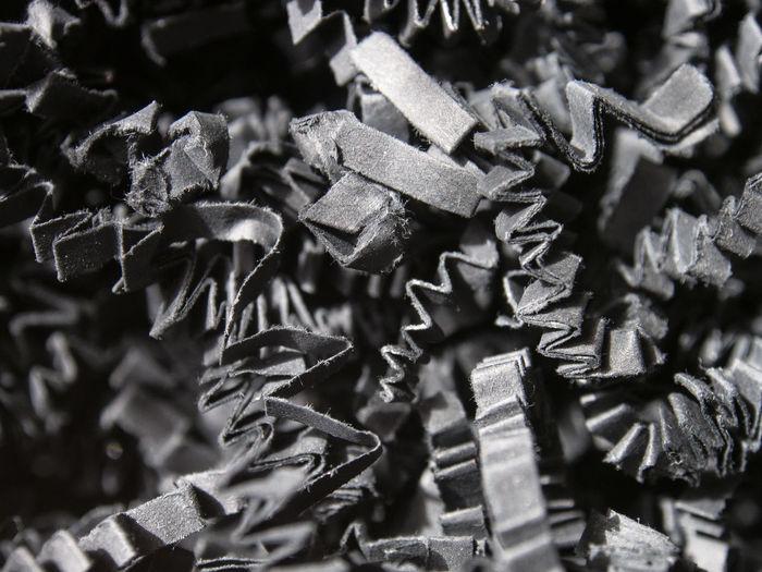 Full frame shot of folded papers