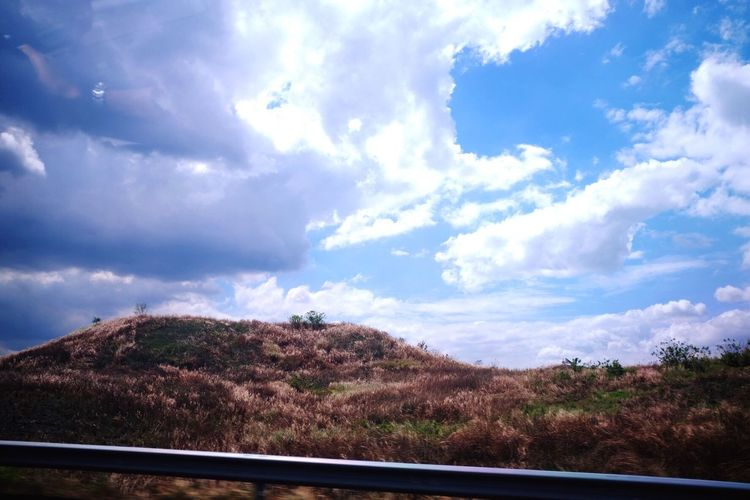 Beaty Of Nature Cloud - Sky Nature Mountain No People Landscape Outdoors Day Shoot Inside A Car Love To Take Photos ❤ Hobbyphotography Eyeem Philippines Subic Philippines