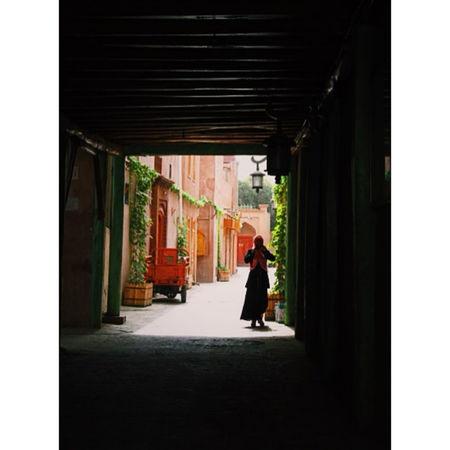 Kashgar Old City Uighur Woman