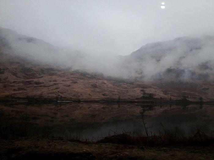 Landscape Scotland Mist