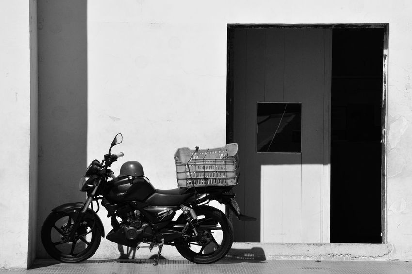 Motorcycle Headwear People Outdoors The Street Photographer - 2017 EyeEm Awards Blackandwhite Bnw Transportation No People Architecture Backgrounds Scenics Nikon The Street Photographer - 2017 EyeEm Awards